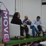 Irish Animation Panel with curator Sharon Campbell at Move Summit