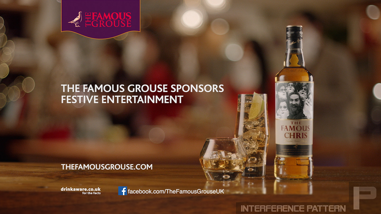 "A series of packshots created for The Famous Grouse ""Make Somebody Famous"" campaign."