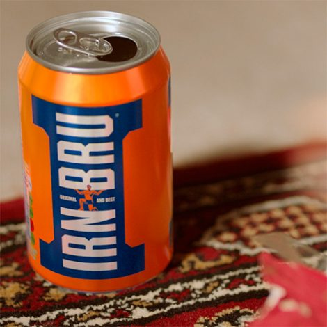 Irn Bru – Jumper – Branding Replacement