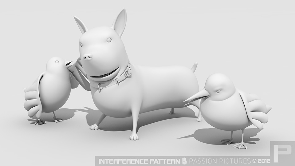 Stylized animal models, produced for Passion Pictures for Toyota Prius - 'Hum' commercial