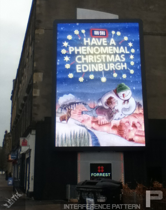 A little touch of magic on Leith walk.