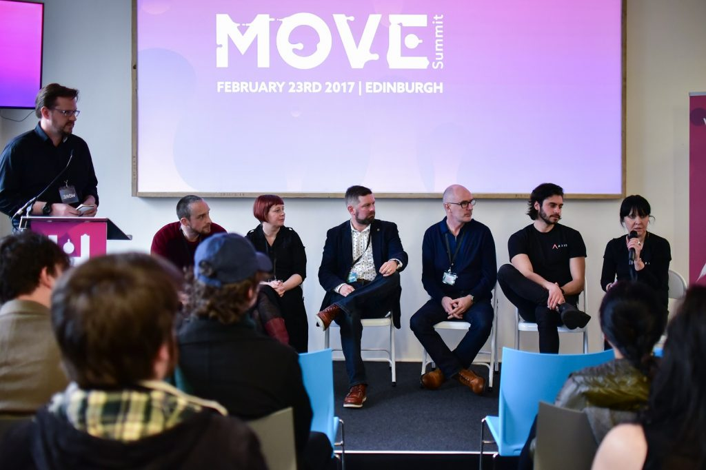 Emerging talent session with careers panel line up with industry experts - Paul Mackman (host), Will Adams, Elaine McElroy, Mally Graveson, Jon Neill, Hudson Martins and Debbie Ross.